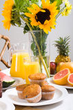завтрак солнечный Стоковое фото RF