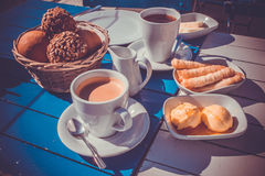 Завтрак Стамбула стоковая фотография rf