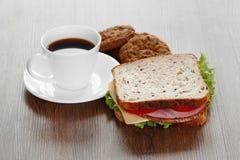 Завтрак утра стоковое изображение rf