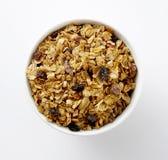 Завтрак хлопьев стоковые изображения rf