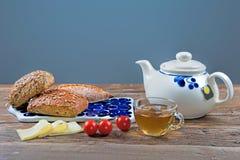 Завтрак для одного Стоковое Изображение