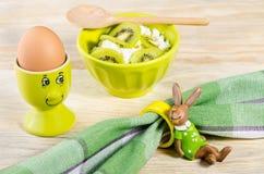 Завтрак для ребенка Стоковое Фото
