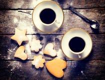 Завтрак для 2 Стоковые Изображения RF