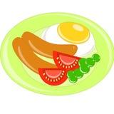 Завтрак иллюстрация штока