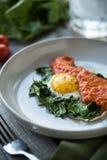 Завтрак Paleo стоковое изображение