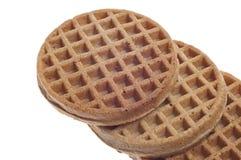 завтрак waffles пшеница вся Стоковая Фотография RF