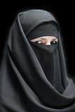 завуалированная женщина Стоковые Изображения RF