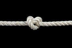 завязанная веревочка Стоковое Изображение