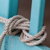 Завязанная веревочка Стоковые Фотографии RF