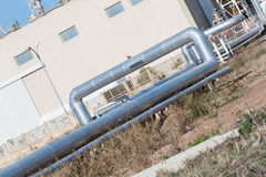 Завязанная трубка Стоковые Фотографии RF