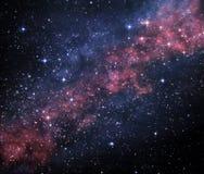 загадочная вселенный Стоковое фото RF