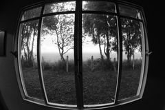 Загадочное окно Стоковое фото RF