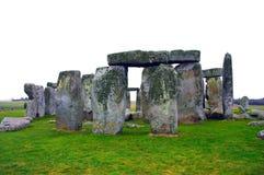 загадочное stonehenge Великобритания Стоковое Фото