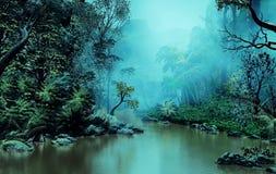 Загадочные джунгли бесплатная иллюстрация