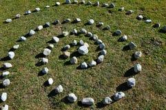 Загадочная спираль в горах Стоковое Изображение RF