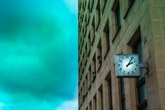 Загадочное здание города Стоковое Изображение RF