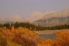 Загадочные горы Стоковое Фото