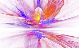 Загадочные магнитные поля формы чужеземца изолированные дальше Стоковое фото RF