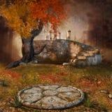 Загадочные руины бесплатная иллюстрация