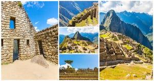 Загадочный город - Machu Picchu, Перу, Южная Америка Стоковое Фото