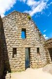 Загадочный город - Machu Picchu, Перу, Южная Америка. Incan руины Стоковая Фотография