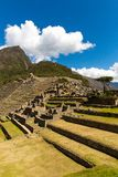Загадочный город - Machu Picchu, Перу, Южная Америка Incan руины Стоковые Фото