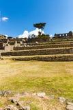 Загадочный город - Machu Picchu, Перу, Южная Америка Incan руины Стоковые Фотографии RF