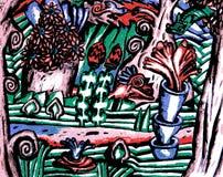 Загадочный лес Стоковое Изображение RF