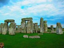 загадочный камень в Англии Стоковые Изображения RF