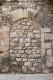 Загерметизированный средневековый свод стоковые фото