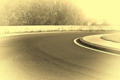 Загиб дороги Стоковая Фотография RF