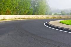 Загиб дороги Стоковые Изображения RF