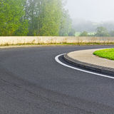 Загиб дороги Стоковое фото RF