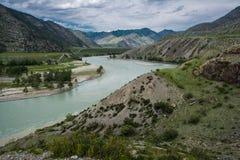 Загиб реки Стоковая Фотография RF
