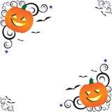 загоняет halloween в угол Стоковое фото RF