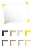 загоняет vec в угол фото иллюстрации Стоковое фото RF