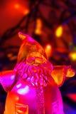 загоранная вертикаль santa Стоковое Фото