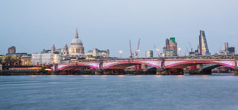 загоранный горизонт london Стоковое Фото