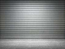 Загоранный ролик grunge металлический Стоковое Изображение RF