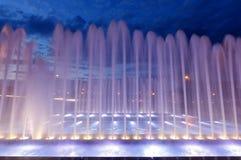 загоранный фонтан Стоковые Изображения