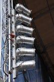 загораться оборудования Стоковая Фотография RF