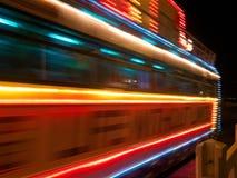 Загоренные трамваи стоковые фотографии rf
