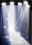 Загоренный подиум Стоковая Фотография