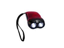 Загоренный свет приведенный факела с веревочкой ремня Стоковое Фото