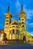 Загоренный собор Бамберга Стоковое Изображение