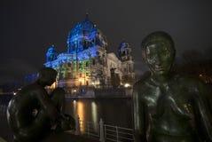 Загоренный собор Берлина Стоковое Изображение RF