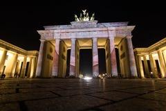 Загоренный строб Бранденбурга Стоковое Изображение