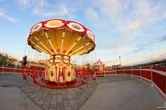 Загоренный французский carousel стоковые фото