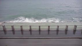 Загородка Адриатического моря сток-видео