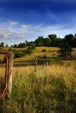 загородка деревенская Стоковые Фотографии RF